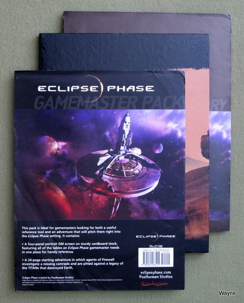 Eclipse Phase: Gamemaster Pack
