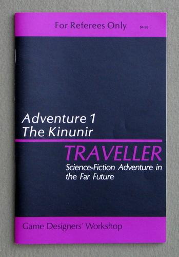 Traveller Adventure 1: Kinunir - 1ST PRINT, Marc Miller
