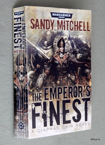 The Emperor's Finest (Ciaphas Cain), Sandy Mitchell