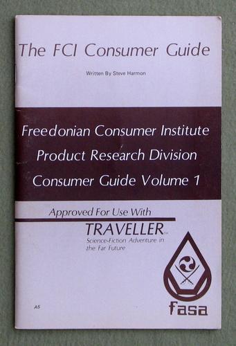 FCI Consumer Guide (Traveller), Steve Harmon
