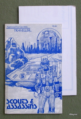 Scouts & Assassins (Traveller RPG) - RARE EARLY PRINT, Don Rapp