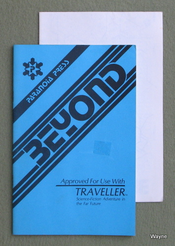 Beyond (Traveller RPG), Don Rapp