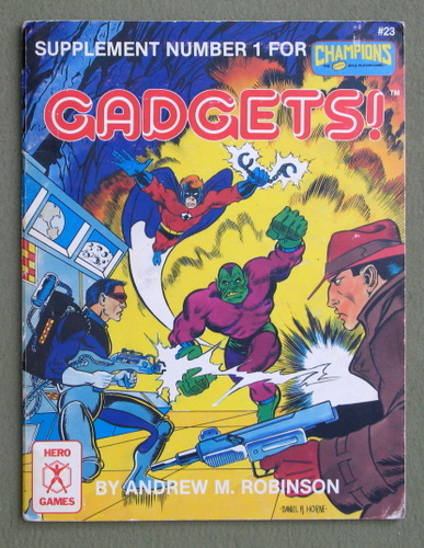 Gadgets! (Supplement Number 1 for Champions), Andrew M. Robinson