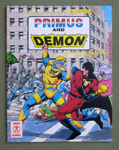 Primus and Demon: Organization Book Two For Champions, Andrew Robinson