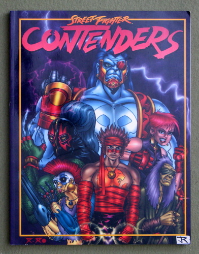 Contenders (Street Fighter: The Storytelling Game), James Estes