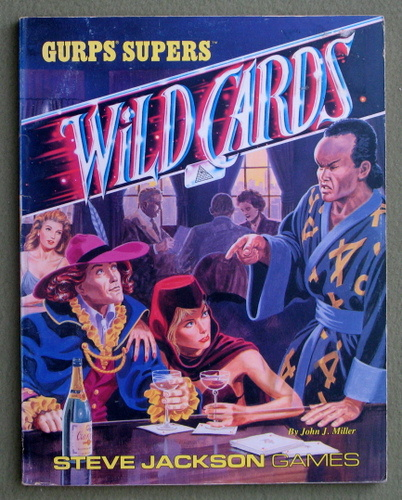 GURPS Wild Cards, John J. Miller