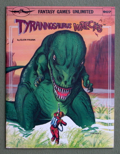 Tyrannosaurus Wrecks: Science Fiction Game, Glen Frank