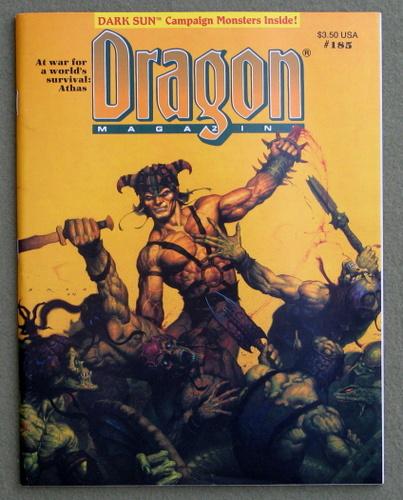 Dragon Magazine, Issue 185