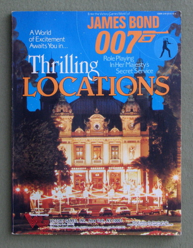 Thrilling Locations (James Bond 007 role playing game)