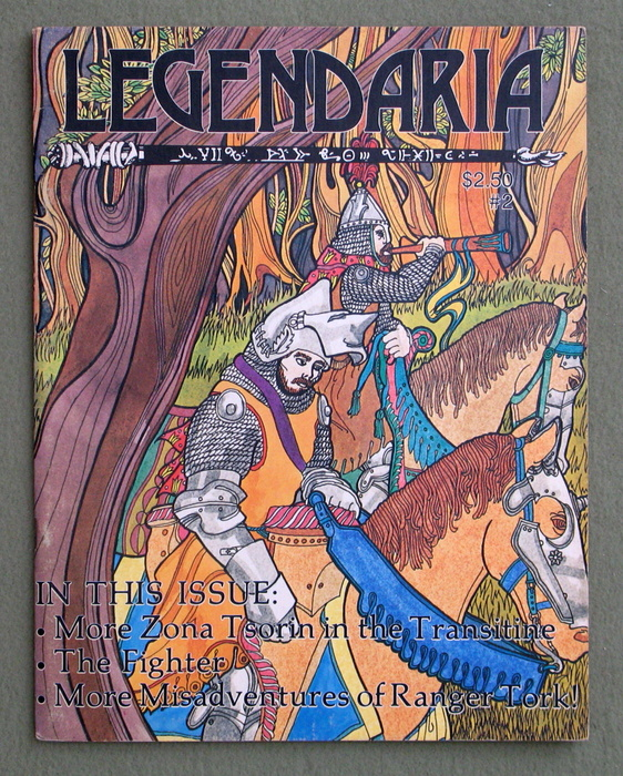 Legendaria Magazine, Issue #2