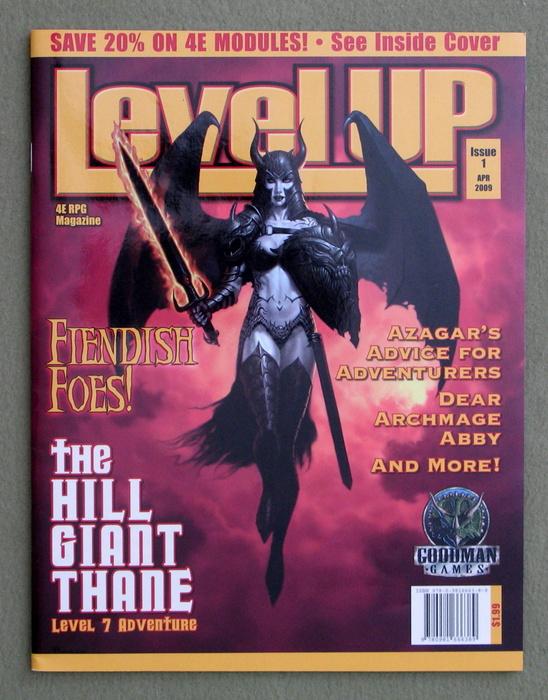Level Up Magazine, Issue 1 (Dungeons & Dragons, 4th Edition)