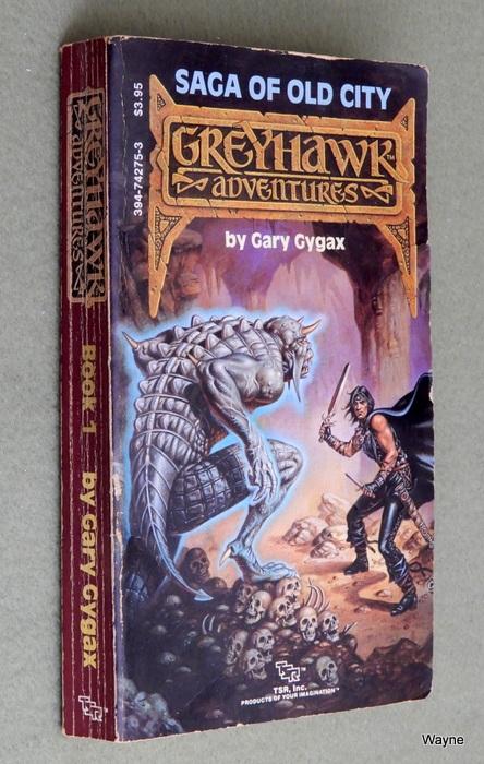Image for Saga of Old City (Greyhawk Adventures #1) - READING COPY