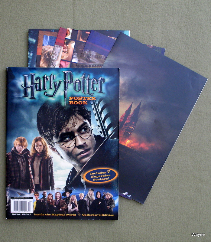 Harry Potter Poster Book Inside the Magical World Collector's Edition (Includes 7 Supersize Posters)