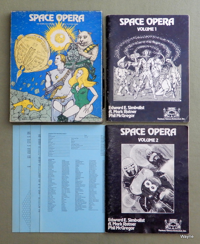 Image for Space Opera: Science Fiction Role Playing Game (Blue Box: 1st Edition)