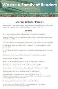 links for illiterate parents