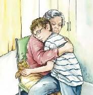 grandma and Josh