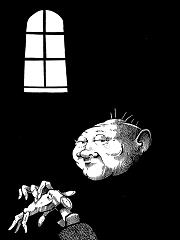 white on black illustrations