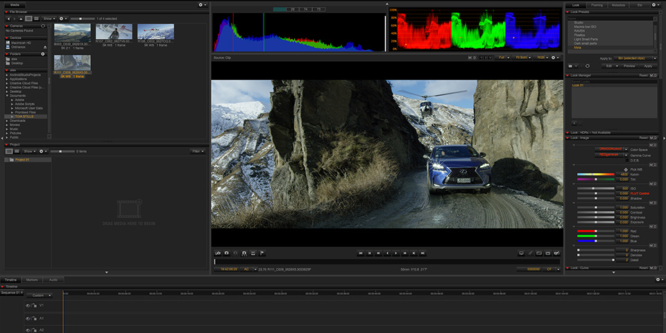REDCINE-X PRO Worflow Made Easy