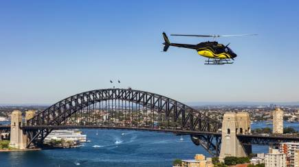 RedBalloon Helicopter Flight Over Sydney - 20 Minutes