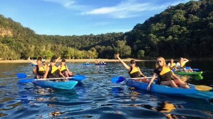 RedBalloon Morning Kayaking and Bushwalking Adventure - 3 Hours