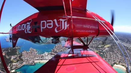 RedBalloon Pitts Special Sydney Scenic and Aerobatic Flight- 80 Minutes