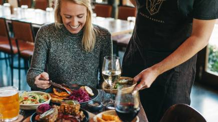 RedBalloon Meat Dining Experience with Wine - For 2 - Hillarys
