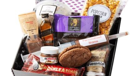 RedBalloon Sweet Treats, Whisky and Personalised Nutella Gift Box