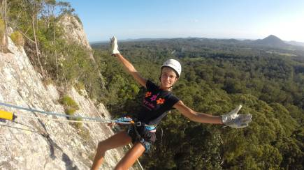 RedBalloon Noosa Sunset Abseiling Adventure