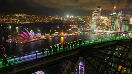 RedBalloon Vivid Sydney BridgeClimb Express - Sky Dance Floor - Weekday