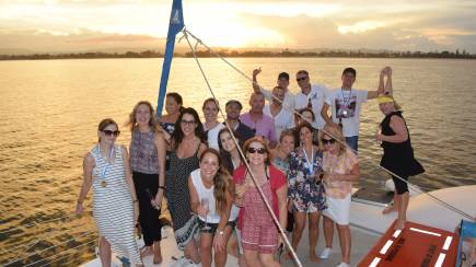 RedBalloon Sunset Sailing Catamaran Experience - 2 Hours - Weekend