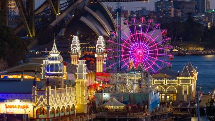 RedBalloon Luna Park Rides Pass during Vivid Sydney- Weekend - 85-105cm