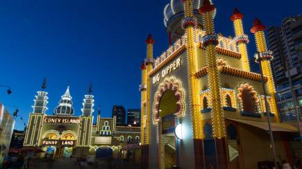 RedBalloon Luna Park Rides Pass during Vivid Sydney- Weekend- 106-129cm