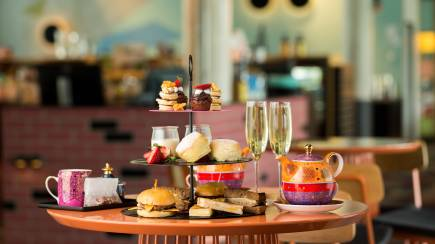 RedBalloon Retro Style High Tea - For 2 - Saturday