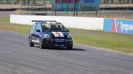 RedBalloon Fiesta Racecar Drive Experience at Symmons Plains - 5 Laps