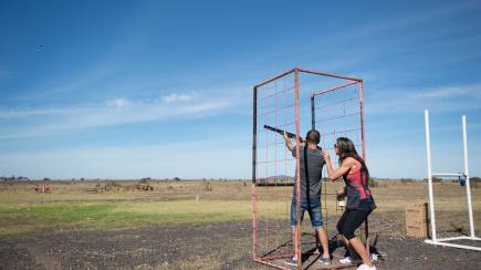 RedBalloon Clay Target Shooting - Quandong, VIC