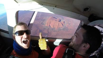 RedBalloon Uluru Daytime Tandem Skydive - 12,000ft - For 2