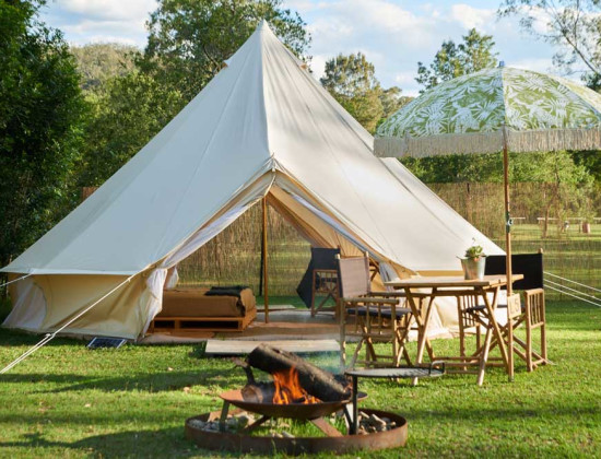Glamping in the Shoalhaven