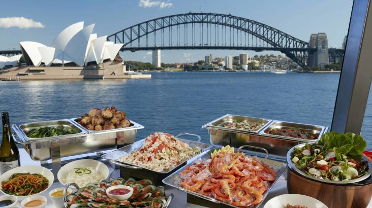 RedBalloon Seafood Buffet Lunch Cruise on Sydney Harbour - For 2