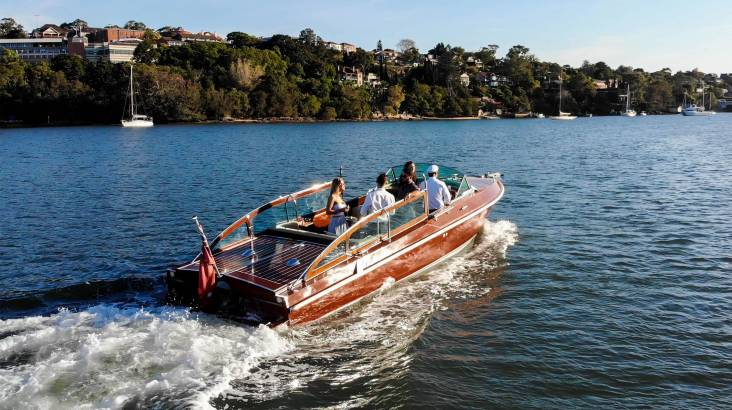 RedBalloon Private Sydney Harbour Sunset Cruise with Hamper and Bubbles