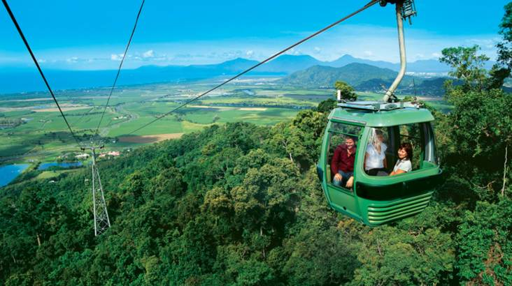 RedBalloon Experience Kuranda by Train and Skyrail Rainforest Cableway