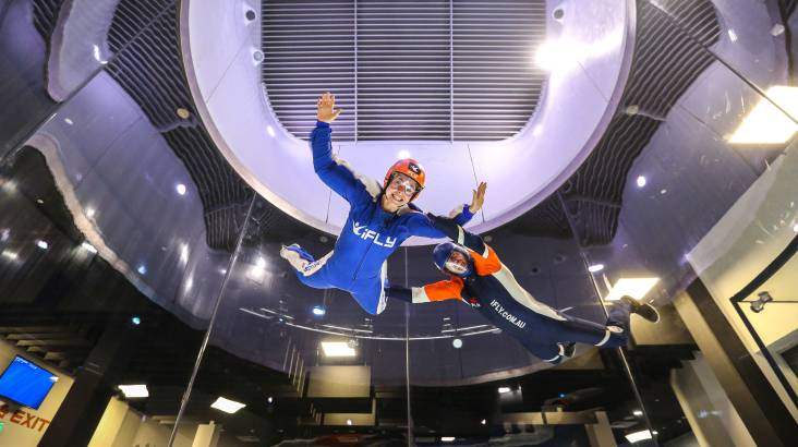 RedBalloon Intro to Indoor Skydiving - 2 Flights - Midweek - Gold Coast