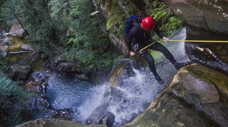 RedBalloon Canyoning and Abseiling Adventure