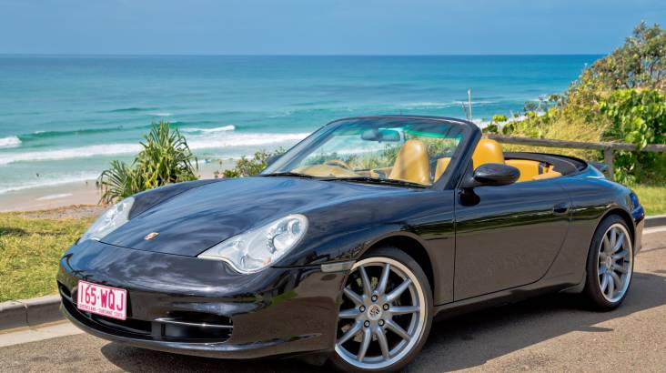 RedBalloon Porsche 911 Carrera Convertible Joy Ride - 2 Hours - For 2