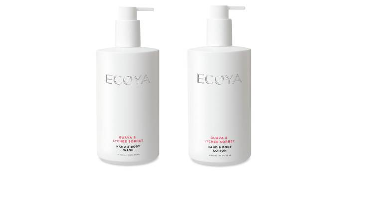 RedBalloon Ecoya Body Wash and Body Lotion Duo - Guava & Lychee Sorbet