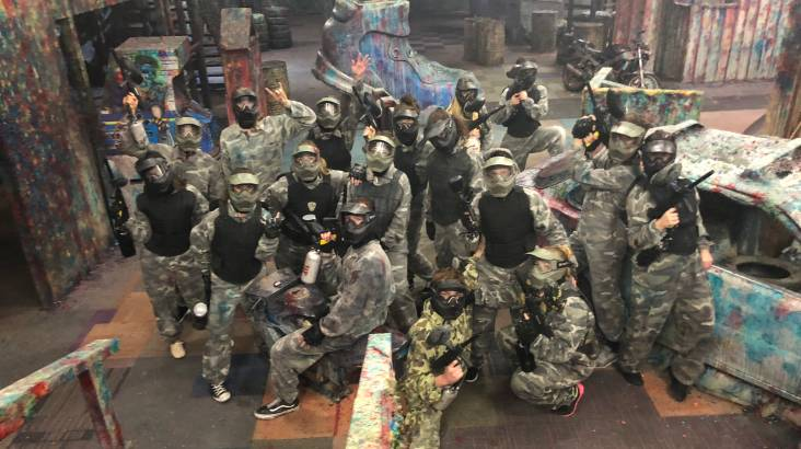 RedBalloon 2 Hour Indoor Paintball Experience