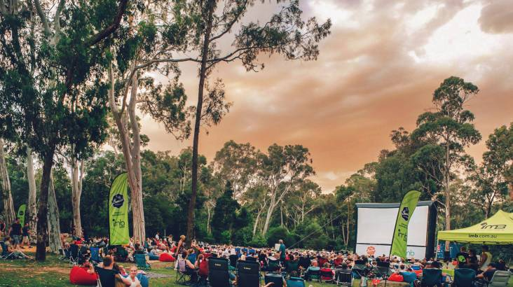 RedBalloon Sunset Outdoor Cinema Package - Canberra - For 2