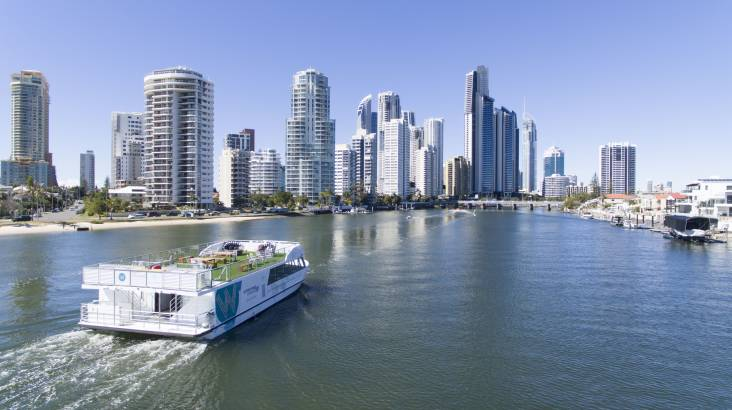 RedBalloon Gold Coast Sightseeing Cruise with Buffet Lunch