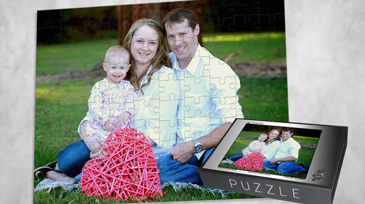 RedBalloon Personalised Jigsaw Puzzle - 100 Pieces