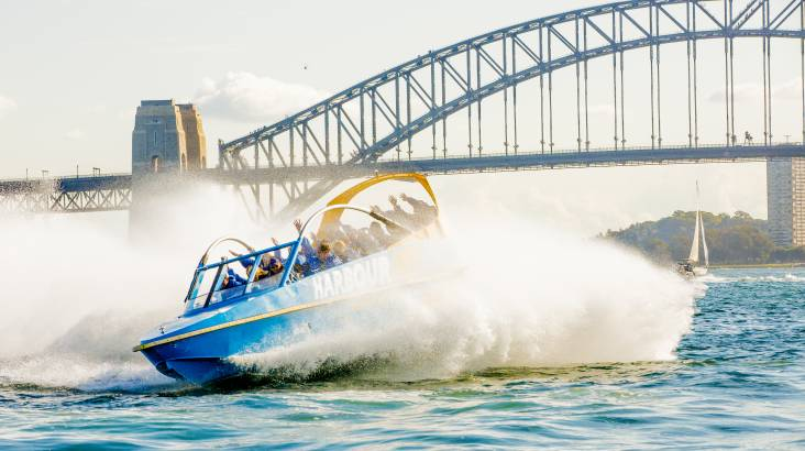 RedBalloon Jet Boat in Sydney Harbour - 50 Minutes