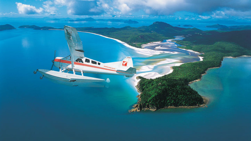 RedBalloon Seaplane Flight and Visit to Whitehaven Beach